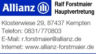 Allianz Ralf Forstmaier 2